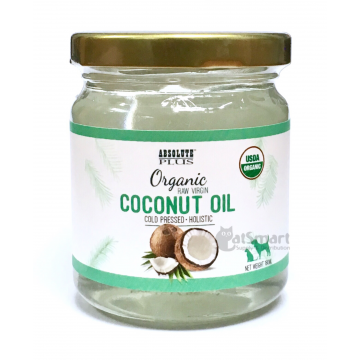 Absolute Plus Organic Raw Virgin Coconut Oil 500mL